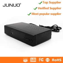 JUNUO dvb t2 set top box digital tv cable receiver free to air full hd .265 dvb t2