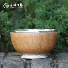 China 990 silver tea bowl with moderate price for sale