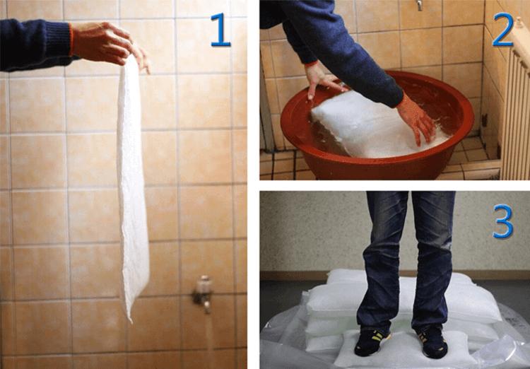 SAP water absorbent Inflatable control flood bag (Sandless flood sandbag).png
