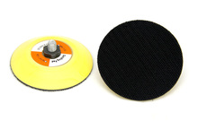 75mm hook and loop surface PU plate angle grinder sanding pad for wholesale