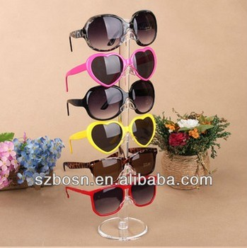 Good qualilty hot sale acrylic eyewear display stand for sale with SGS approved