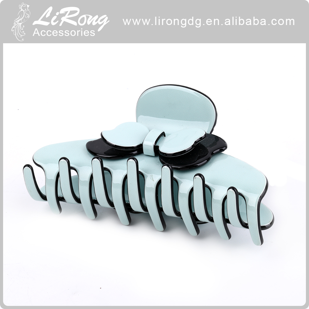 Fashion plastic hair claw for girls vintage hair accessories