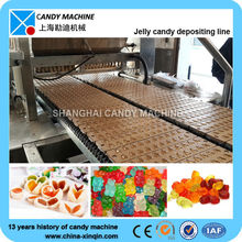 CE certified candy assembly line in Shanghai for jelly