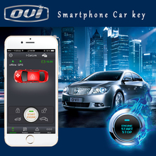 Smart Phone Car Key with Smart Anti Theft Switch One Button Start Push Start Passive Keyless Entry Car Alarm