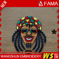 Wholesale Fashion Design Embroider Patches Cartoon Design