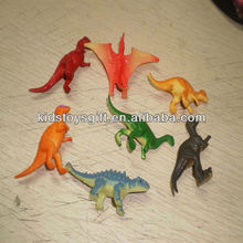 cheaper plastic dinosaur toy/small animal toy set