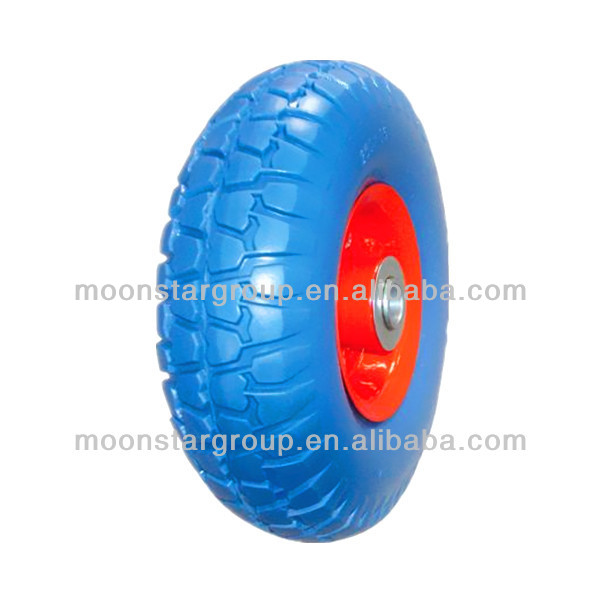 high quality pu rubber wheels 3.00-4