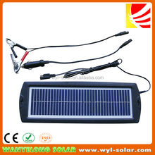 12V/3W Solar Car Battery Charger For Cars / Trucks / Boat / Motorcycle