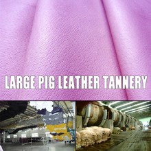 china EU pig grain shoe skin wet salted pig skins welding glove pig leather for leather clutch bag