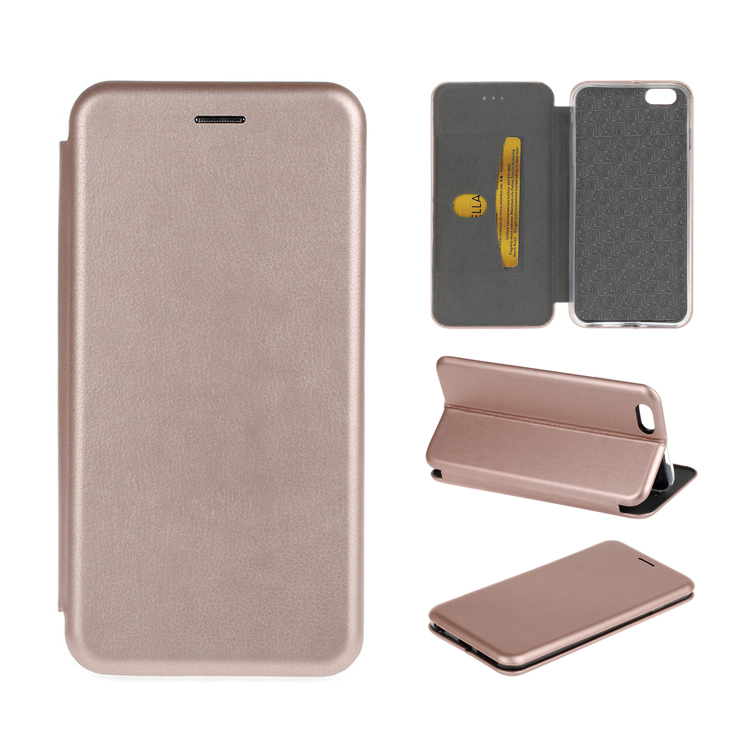Multifunction Slim Magnetic Folding Stand PU Leather Flip Cover Phone Case with Card Holder for iPhone 6 Plus