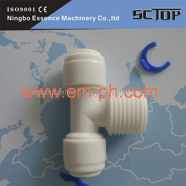 Misting cooling systems fittings Brass N.P Non-Return Air Flow Valve Pneumatic Fittings PNEUTOP pg 3/8-1/4mm quick conn