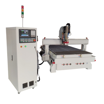 Wood Furniture Cabinet Door Making Machine / Woodworking Milling Cutting Machine Atc CNC Router