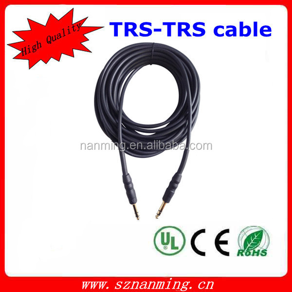 Wholesale guitar cables and OEM best cable for guitar