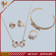 Baby jewelr sets fashion 18k gold jewelry wholesale jewelry