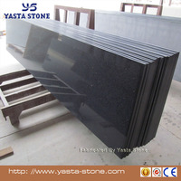 Tiles Slabs Countertops Sparkle Black Artifical Quartz Stone