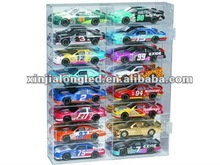 16 Slot 1/24 Scale Display Case Acrylic Model Car Display Case