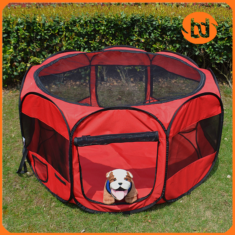 Dog playpen&pet playpen with eight panels