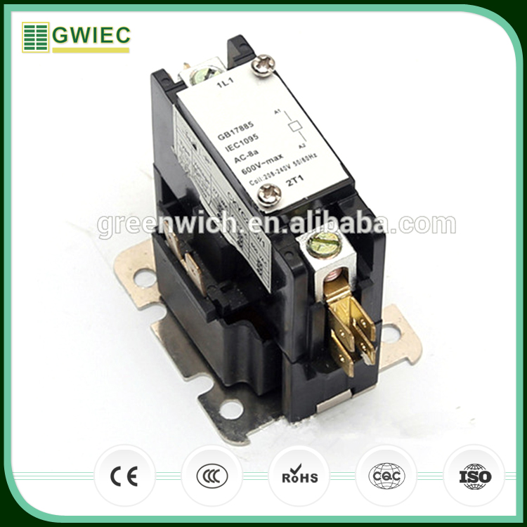GWIEC High Quality Products 2 Pole DP Air Conditioning Magnetic Contactor 75A