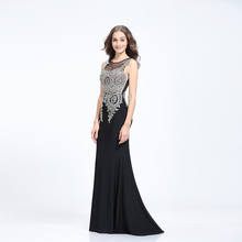 Long patterns lady evening dress guangzhou