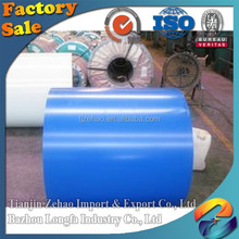 PPGI all type Color coated prepainted galvanized steel coil with Construction material