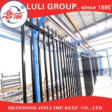 Top-selling Galvanized Faux Wrought Iron Fence Rail Pressed Point steel Picket Wrought Iron Fence (factory)
