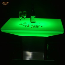 Light Up Bar Table /acrylic led bar tables/ Glowing Led Cocktail Table