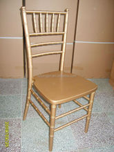 Garden solid wood antique tiffany wedding chair