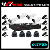 WETRANS 8CH H.264 Network DVR Kit Video Surveillance System