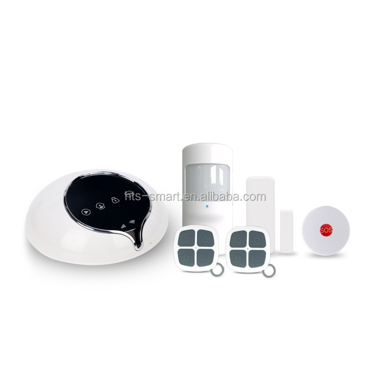 Wireless Intruder Security GSM 3G Home Alarm System with APP control and alarm relay switch for house safety