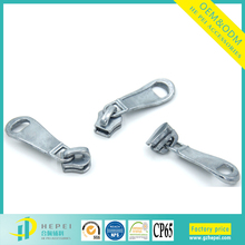 3# -10# custom brand logo metal ykk zipper slider puller for clothing