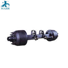 Standard Size Used Semi Trailer Axle Spindle for 2 Axle Trailer