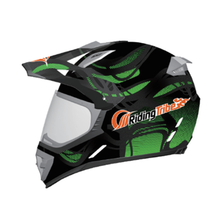 Helmet Horse Riding Kids Liner Motocross Motorcycle With Visor Offroad Helmet