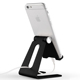 Retail multi adjustable portable tablet and mobile phone display stand holder for table