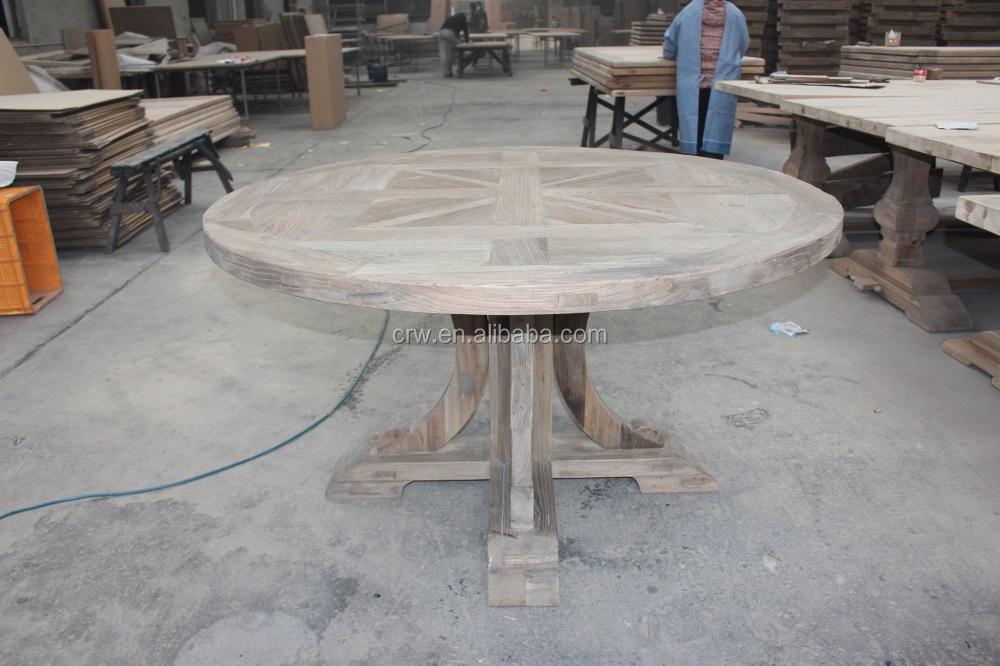Dt 1503 ronda mesa de comedor muebles de poca mesas de for Muebles de epoca
