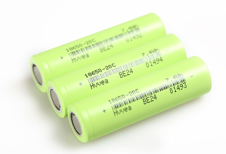 Hot sale 3.7V 2000mAh 18650 rechargeable lithium li ion battery cell wholesale for shaver