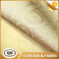 Factory direct sale emboss curtain fabric