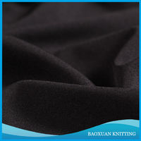 100% polyester knit double sides single jersey interlock fabric