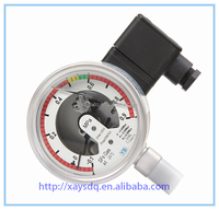 Hot model bourdon tube pressure gauge/gas pressure gauge manometer/gas pressure gauge in electrical