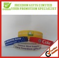 Promotion Gifts Cheap Price Logo Printed Rubber Wristband