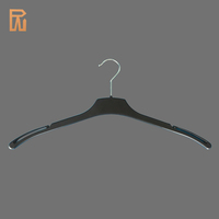 Plastic Black Cloth Hangers Wholesale