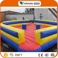 Factory Supply inflatable sumo arena gladiator joust sticks
