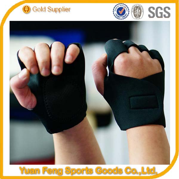 Wholesale Custom neoprene weight lifting gym gloves