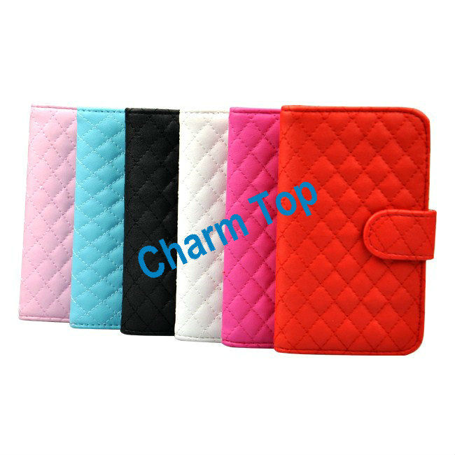 2013 Hot Sale for Samsung Galaxy S4 Leather Case with Card Slots
