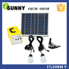 Factory outlets WHOLESALE mobile charge portable SOLAR PANEL LIGHTING KIT