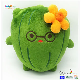 Promotional Plush vegetables toy customized logo ICTI FACTORY