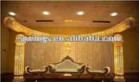 New Half moon Wedding Fiber-glass mandap/pagoda/pillars