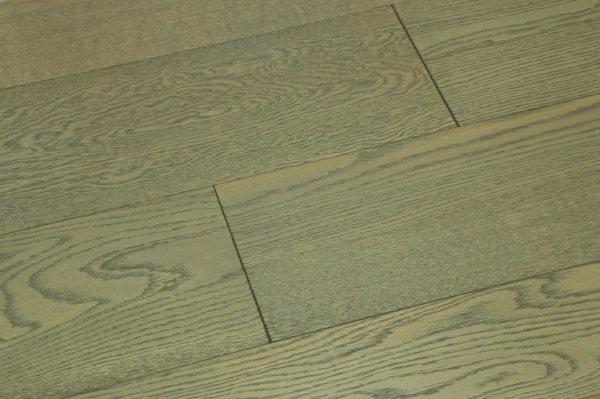 New Grey Color Design Engineered Oak Wood Flooring