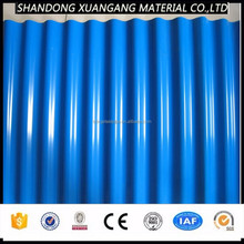 zinc color coated plate , color coated steel coil for roofing sheet
