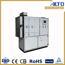 Quiet duct type industrial dehumidifier 380V 10 litres 5.7kw CE RoHS