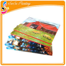 Offset Printing Hardbound Glossy Lamination Wedding Photo Book With UV